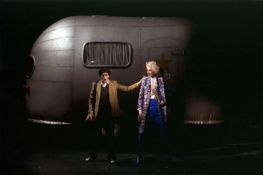Inflatable caravan, The Rake's progress<br/>Staging: Robert Lepage