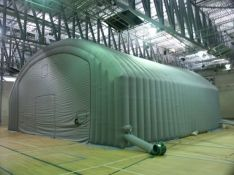 Inflatable shelter<br/>Hydro-Quebec