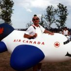 Inflatable plane costumes<br/> Air Canada