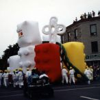 Inflatable parade floats