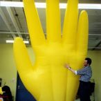 inflatable hand