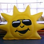 Inflatable sun