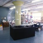Clear inflatable sphere