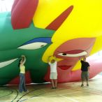 Inflatable characters<br/>Just for laugh festival