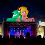 Inflatable characters (43' X 54') <br/>Just for laugh festival