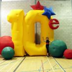 Inflatable 10th anniversary<br/>
