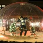 Inflatable clear dome<br/>Christmas parade