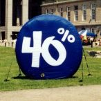 Bell inflatable sign
