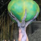 Inflatable tree foliage<br/>Scalada, Cirque du Soleil 2014