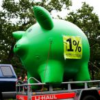 Inflatable piggy bank<br/>Ukrainian Credit Bank