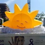 Inflatable sun 9' X 13'<br/>Gay pride parade