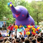 Inflatable elephant 20' X 25'(H)<br/>available for rental