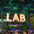 inflatable letters<br/>C2Mtl 2016
