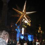 Inflatable star<br/>Night parade, Montreal en lumières